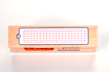 Grid Tag Border Stamps