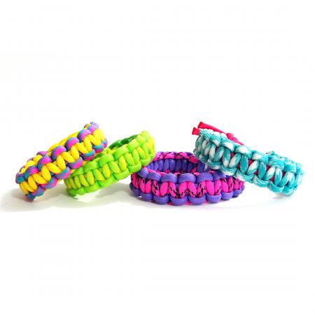 Cobra Stitch Paracord Bracelet